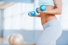 Gewichtsoefening Stock Fotografie
