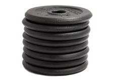 Gewichtsplaten Stock Afbeelding