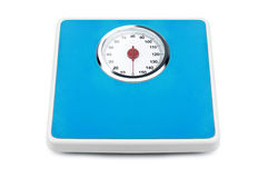 Gewichtsskala Stockbild