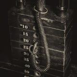 Gewichtsstapel Stockbilder