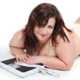 Gewichtsverlies. Stock Foto's