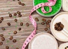 Gewichtsverlies en cellulite busting concept stock afbeeldingen