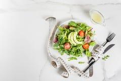Gewichtsverlies en dieetconcept royalty-vrije stock foto's