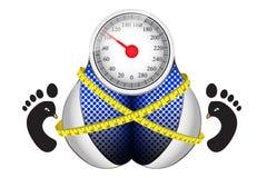 Gewichtsverlust-Ziele Lizenzfreie Stockfotografie