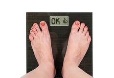 Gewichtsverlusterfolg Stockfotos