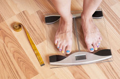 Gewichtsverlustkonzept Lizenzfreies Stockfoto