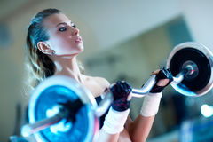Gewichttraining Lizenzfreie Stockbilder