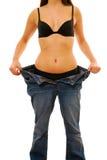 Gewichtverlust stockbild