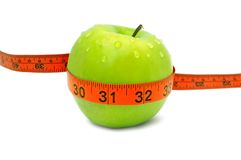 Gewichtverlust und gesunde Diät Lizenzfreie Stockbilder