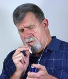 Gewijd aan het Roken (Geen Vlam) Stock Fotografie