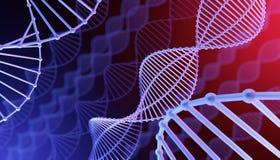 Gewijzigde DNA Stock Foto's