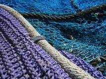 Gewinde und Netze Stockbild