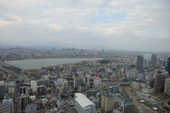 Gewinn ragt Osaka Umeda Holliday, Markstein, Reise, Japan hoch Stockfotografie