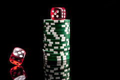 Gewinnende Glück-Spiele Lizenzfreies Stockbild