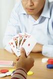 Gewinnende Hand Lizenzfreie Stockbilder