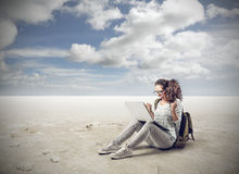 Gewinnende Technologie lizenzfreies stockbild