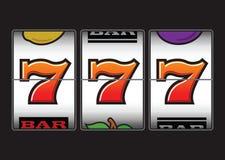 Gewinnender Spielautomat Lizenzfreies Stockfoto