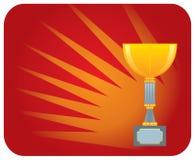 Gewinnendes Cup Lizenzfreies Stockbild