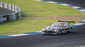 GEWINNER DIXCEL SLS DES GEWINNERS in den Rennen GT300 bei Burirum, Thailand Stockfoto