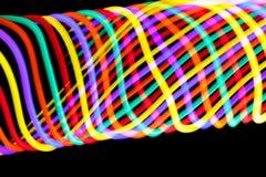 Gewirbelte Farben stockbild