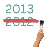 Gewist voor nieuw jaar stock afbeeldingen