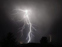 Gewitter I-5 im mittleren Willamette-Tal Lizenzfreies Stockfoto