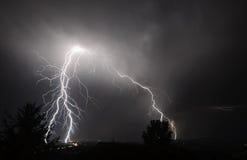 Gewitter I-5 im mittleren Willamette-Tal Lizenzfreie Stockbilder