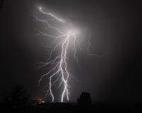 Gewitter I-5 im mittleren Willamette-Tal Lizenzfreie Stockfotografie