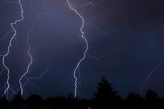 Gewitter im Juli Stockfoto