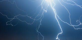 Gewitter nachts Lizenzfreie Stockfotografie