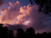 Gewitter in Nord-Australien Stockfoto