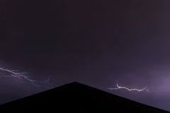 Gewitterwolkenhimmel Stockbilder
