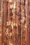 Gewölbte Metallplatte, horizontal Stockbilder