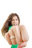 Gewond en gekwetst in de foto van het liefdeconcept royalty-vrije stock foto