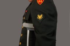Gewonde Militair Veteran Stock Foto's