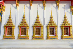 Gewone Thaise tempel Royalty-vrije Stock Foto