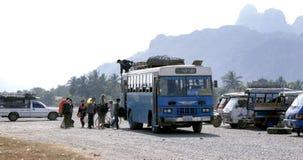 Gewoonlijk levensstijl in Laos Royalty-vrije Stock Foto's