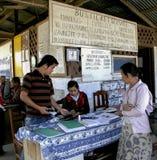 Gewoonlijk levensstijl in Laos Stock Afbeelding