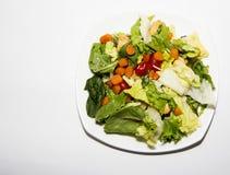 Geworpen Salade Royalty-vrije Stock Foto's