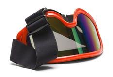 Geworpen Ski Goggles royalty-vrije stock foto's