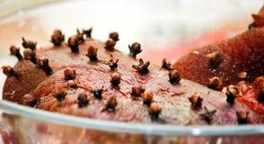Gewricht van varkensvlees royalty-vrije stock fotografie