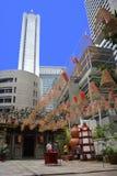 Gewundene Dekoration im buddhistischen Tempel, Singapur, am 21. August 2011 Lizenzfreie Stockfotografie