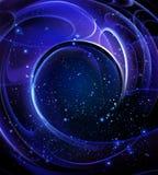 Gewundene Galaxie lizenzfreie abbildung