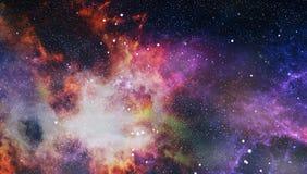 Gewundene Galaxie im Weltraum Elemente dieses Bildes geliefert von der NASA stockfoto