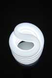 Gewundene Lampe Stockfoto