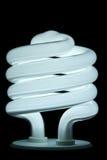 Gewundene Lampe stockfotos