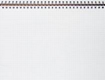 Gewundene Linie Notizbuch Stockbilder
