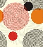 Gewundene Linien bilden einen Kreis lizenzfreie abbildung