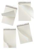 Gewundene Notizbücher Lizenzfreie Stockbilder