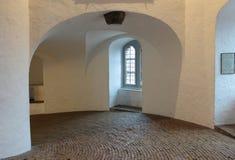 Gewundene Rampe innerhalb des runden Kontrollturms, Kopenhagen Lizenzfreie Stockfotografie